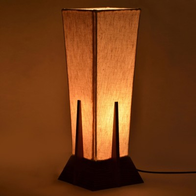 ExclusiveLane 14inch Pyramid Table Lamp
