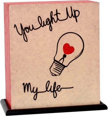Shady Ideas You Light Up My Life - Valentine Special Table Lamp