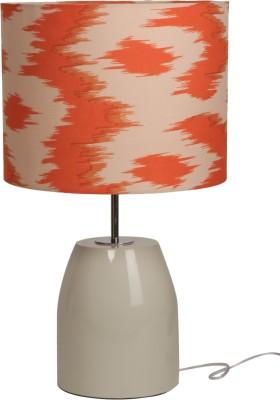 Bespoke Crafts HUMPTY OFF WHITE & ORANGE Table Lamp