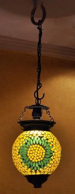 Lal Haveli Antique Style Decorative Mosaic Art Glass Night Lamp