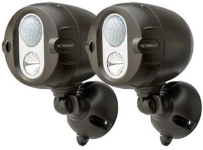 Mr Beams 200-Lumen Networked LED Wireless Motion Sensing Spotlight System with Net Bright Technology Night Lamp