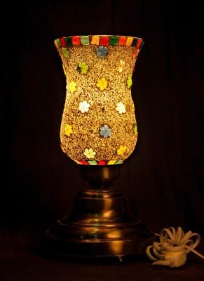 Gojeeva Antique Mosaic Work Decorative 4 Table Lamp