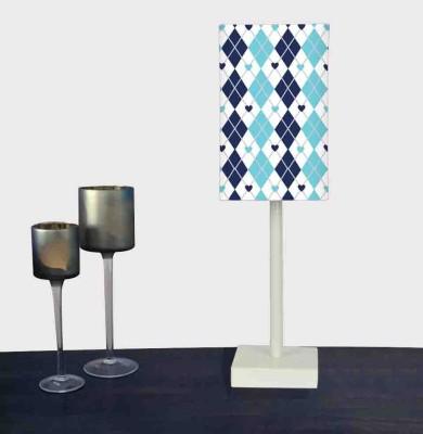 Nutcase Blue Patterns Table Lamp