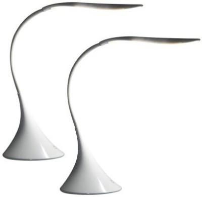 Jazam Battery & Usb Powered Flexi Touch Sensor Swan Table Lamp