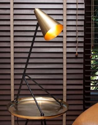Orange Tree Icosa Gold Table Lamp