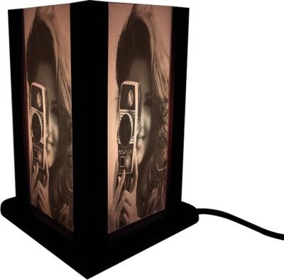 Huppme Gifts Girl Photo Shot Table Lamp