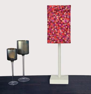 Nutcase Red Confetti Table Lamp
