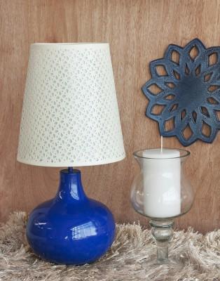 Orange Tree Vaille Blue Table Lamp