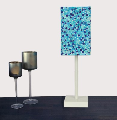 Nutcase Light Blue Confetti Table Lamp