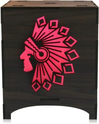Saibhir Red Indian Table Lamp