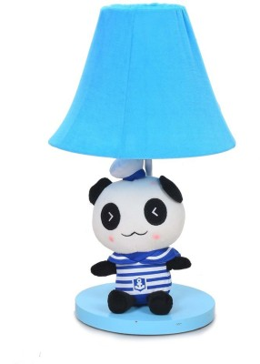 Scrafts Soft Toy Children,S Panda Blue Small Table Lamp