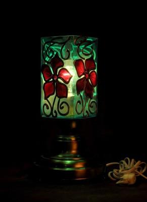 Gojeeva Antique Mosaic Work Decorative 9 Table Lamp