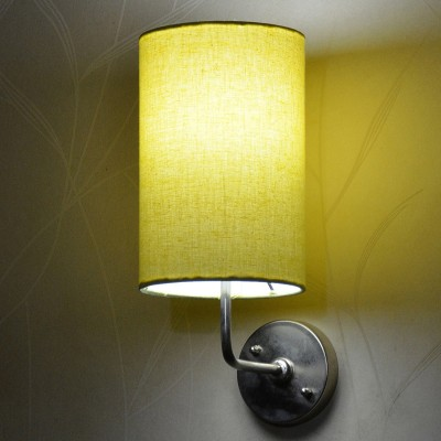 Craftter Yellow Color Round Night Lamp