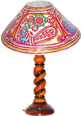 Nayahub Single Peacock Round Table Lamp