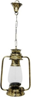 ZUNI Hanging Lantern, Vintage style, Antique Finish. (Frosted Glass) Night Lamp