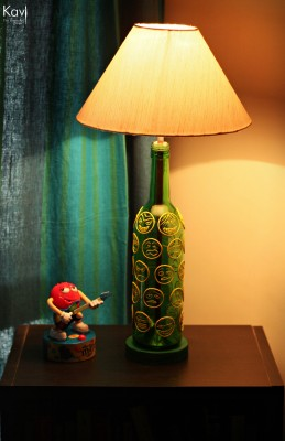 Kavi The Poetry Art Project Smiley Table Lamp