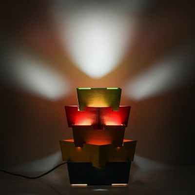 Swagger Swagger Handcrafted Multicolor Lamp Table Lamp