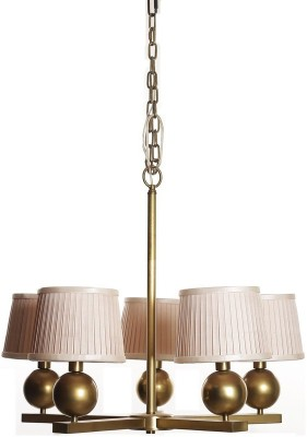 Adithya Lamps Coop Gold & White Chandelier Night Lamp