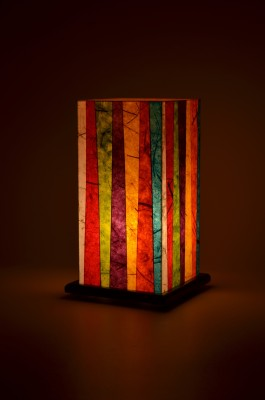 Shady Ideas Simply Small Stripes Table Lamp