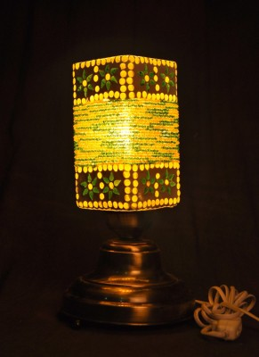Gojeeva Antique Mosaic Work Decorative 18 Table Lamp