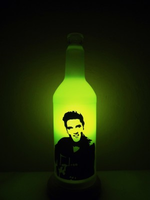 Kavi The Poetry-Art Project Elvis Night Lamp