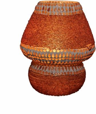 Gojeeva Brown Potta Med Table Lamp