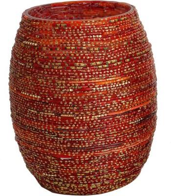Thinking Of You Starlit Ethnic Plug Free LED Bangle Vase Table Lamp