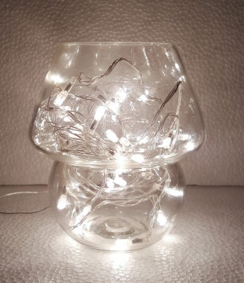 BARISH CLEAR WHITE Night Lamp