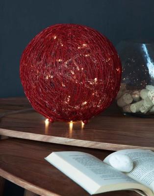 Orange Tree Talish wire mesh Red Table Lamp