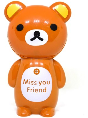 Efinito Gifts Miss You Friend Bear Table Lamp