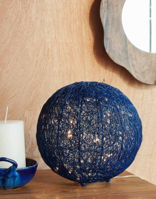 Orange Tree Talish wire mesh Blue Table Lamp