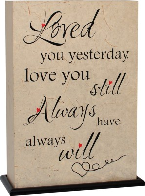 Shady Ideas Loved You Always - Valentine Special Table Lamp