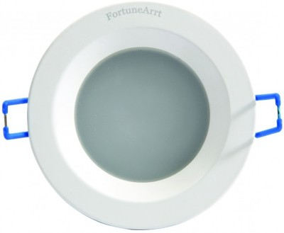 FortuneArrt 15 Watt Round LED Down Light (Mid White) Night Lamp