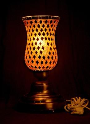 Gojeeva Antique Mosaic Work Decorative 6 Table Lamp