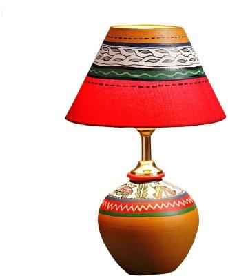 Aapno Rajasthan Handcrafted Terracota Table Lamp