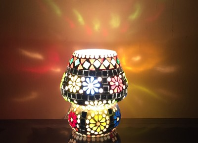 MK lighting and electrical Glass Table Lamp Mosaik 08 Table Lamp
