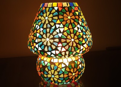 MK lighting and electrical Glass Table Lamp Mosaik 07 Table Lamp