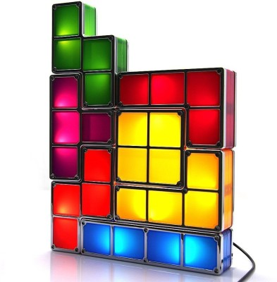 BonZeal Tetris Stackable LED Table Lamp