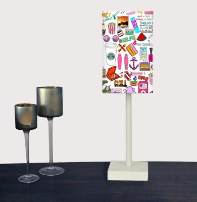 Nutcase Teen Collage Table Lamp