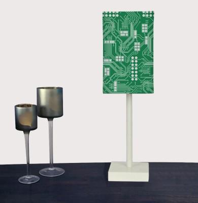 Nutcase Circuit Board Green - Geeks Only Table Lamp