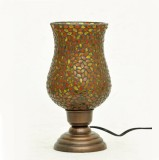 AsAura Mosaic Glass Chimney Table Lamp (...