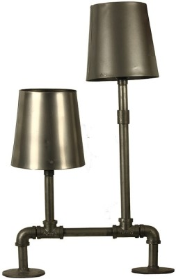 The Decor Mart Office and Home Table Lamp(62 cm, Grey)