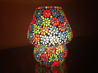 MK lighting and electrical Glass Table Lamp Mosaik 05 Table Lamp