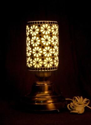 Gojeeva Antique Mosaic Work Decorative 3 Table Lamp