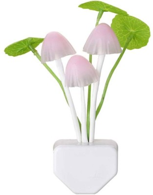 Anything&Everything Environment Friendly Energy Efficient Sensor Operated On Off Color Changeable Led Avtar Mushroom Night Lamp Night Lamp