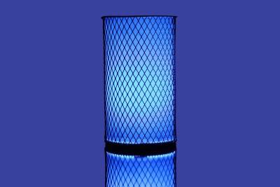 Basement Bazaar Criss Cross Table Lamp