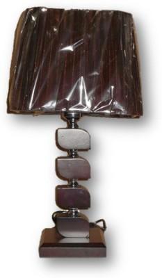 Sudesh Decor Brown Cube Shape Design Table Lamp Night Lamp