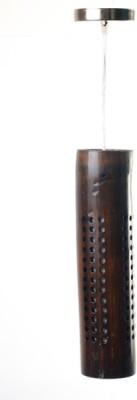 Art World Tri Dotted-Walnut Brown Night Lamp