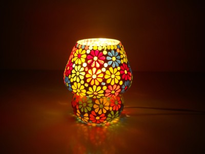 MK lighting and electrical Glass Mosaik 04 Table Lamp