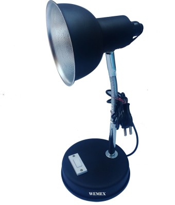 Wemex Black Matte Reading & Studying Table Lamp